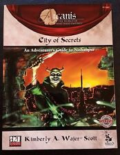 D&D 3.0 Arcanis CITY OF SECRETS: NISHANPUR Dungeons and Dragons D20 PCI1007 NEW!