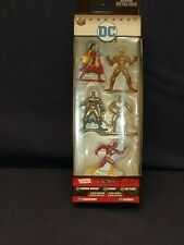 2017 DC metal Nanofigs - Wonder Woman, Cyborg, The Flash, Parademon, Batman
