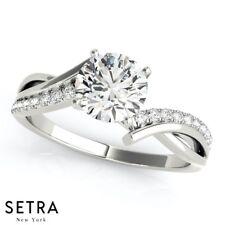BayPas Genuine Diamonds Engagement Ring Semi Mount 14k Gold