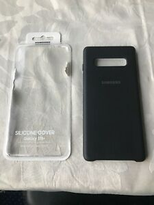 Samsung Silicone Cover for Samsung Galaxy Note10+ Black GENUINE PRODUCT NOT USED