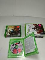 Lot of 9 Xbox One & 360 Titanfall Assassins Creed II Brotherhood Mixed