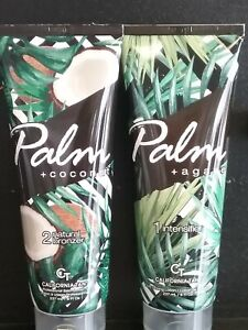 CALIFORNIA TAN PALM & AGAVE  INTENSIFIER + PALM & COCONUT Stp2 BRONZER 8.5 oz