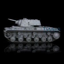 HengLong 1/16 Gray Russian KV-1 RTR RC Tank Model Plastic Ver 3878