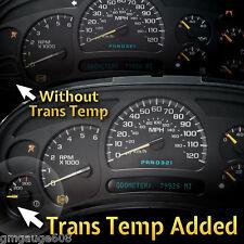 2003 04 05 Chevrolet Instrument Cluster Add Trans Temp Gauge + Rebuild Service