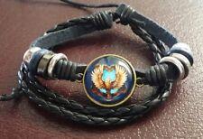 Harry Potter Woven Bracelet Griffindor/Slytherin/Ravenclaw/ Hufflepuff Badges