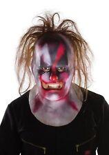 SlipKnot Music Clown Full Mask with Hair Shawn Crahan Licensed