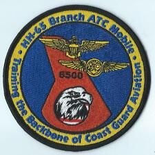Us Coast Guard Hh-65 Branch Air Training Command Mobile Patch