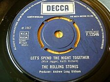 """THE ROLLING STONES - LET'S SPEND THE NIGHT TOGETHER  7"""" VINYL"""
