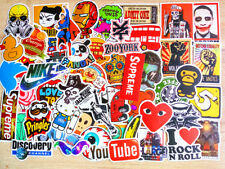50PCS Stickers Vinyl Skateboard Guitar Travel Case sticker pack decals Mix Cool