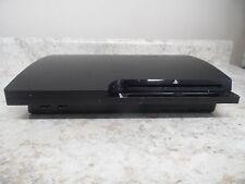 Sony PlayStation 3 Slim Charcoal Black Console CECH-3001B  (55534-1 AR)