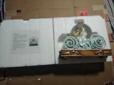 Disney Snow Globe Snowglobe Cinderella Cinderella's Carriage With box & Styrofoa