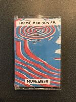 House Mix Tape Don FM Live Pirate Radio From November 1996. Classic Tunes!!
