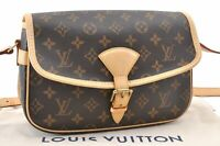 Authentic Louis Vuitton Monogram Sologne Shoulder Bag M42250 LV A8488