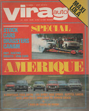 VIRAGE AUTO 1973 8 CANAM GP FRANCE SUEDE BROADSPEED DRAGSTERS SID WATERMAN
