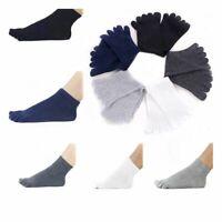 Hot Sell Women Men Shoes Unisex Five Finger Toe Socks Cotton Sports