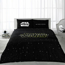 Star Wars Force Awakens 100% Cotton Bedding Quilt/Duvet Cover Set Full/Queen