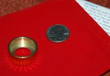 Brass Flying Coins trick --  US quarter size -- great quality props        TMGS