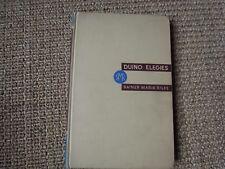 Rainer Maria Rilke - Duino Elegies, Leishman, Spender, 1939 - First Edition