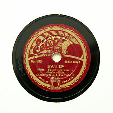 """LORIMER & LAWRANCE """"Sweep / This Crazy World"""" 8"""" ECLIPSE 493 [78 RPM]"""