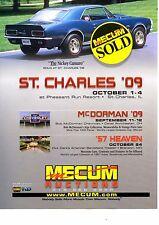 1967 CHEVROLET NICKEY CAMARO  -  GREAT AUCTION AD