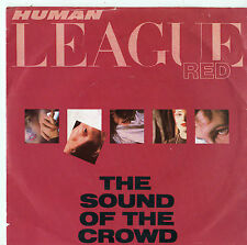 """Human League - Red - The Sound Of The Crowd 7"""" Single 1981"""