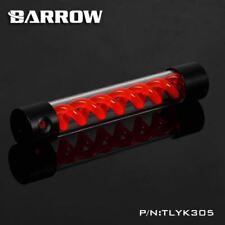 Barrow T-Virus Acrylic Red Helix Watercooling Reservoir 305mm - Black