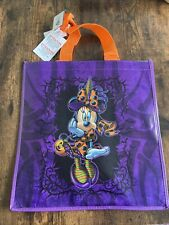 Disney Mickey Minnie Mouse Halloween Trick or Treat Reusable Tote Shopping Bag