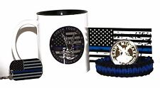 "11.oz ""Check Your Six"" St. Michael's Coffee Cup w/Gold Plated Coin Gift Pack II"