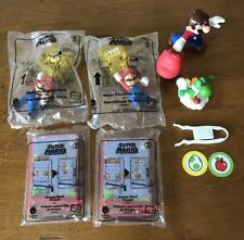 Lot Of Super Mario Brothers McDonalds Happy Meal Toys