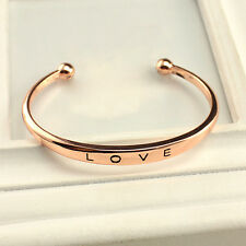 Silver or Rose Gold Love bracelet Carter stainless steel High Quality from USA