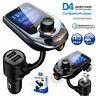Car Bluetooth Wireless FM Transmitter MP3 Player Radio Adapter USB Charger Kit
