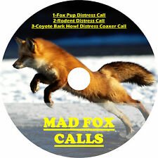 CD GAME CALL, FOX HUNTING, MULTIPAL MOST EFFECTIVE FOX CALLS PLAY & SHOOT AA+