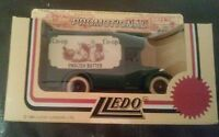 LLEDO DIECAST MODEL DENNIS PARCEL DELIVERY VAN 1934 THE CO OP ENGLISH BUTTER