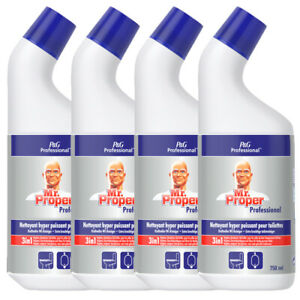 4er Pack Meister Proper Professional WC-Reiniger 4x750 ml