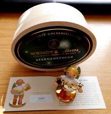 Wendt & Kühn limitierte GOLDEDITION 5 Engel Sternenfänger Nr.14007 blond OVP