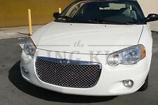 04-06 Chrysler Sebring Convertible Chrome Mesh Grille Bentley Grill 2dr