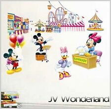 Disney Mickey Mouse Wall Vinyl Sticker Decal Decor Removable bedroom Art Mural