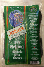 Jobes Tree Netting 14 ft x 14 ft. BLACK #55624 NEW IN PACKAGE FREE SHIPPING!