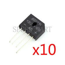 10 pcs KBU1010 Bridge Rectifier Gleichrichter 1000V AC change DC 10A KBU-1010