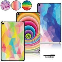 Tablet Hard Shell Case Cover Fit Amazon Fire 7/ HD 8/ HD 10 with alexa + Pen