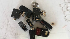 10x KLINKENEINBAUBUCHSE 3,5mm MIX PRINT/SCHRAUB mono und stereo    8995