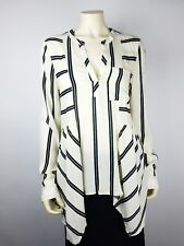 Maeve Anthropology Womens Blouse Pop-Over Long Sleeve Career Work Size 14 NWT