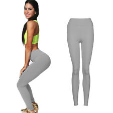 Women YOGA Workout Leggings Gym Sports Pants High Waist Fitness Stretch Trousers