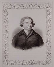 """Charles James Fox"" engraving by L. Tallis London ca. 19th century"