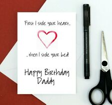 Daddy birthday card - funny card for daddy - from son - from daughter - joke