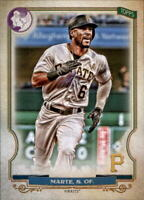 2020 Topps Gypsy Queen STARLING MARTE GQ Logo Swap Parallel Pirates #218