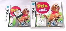 Spiel: PETZ HUNDE SUPERSTAR für Nintendo DS + Lite + XL + 2DS + 3DS