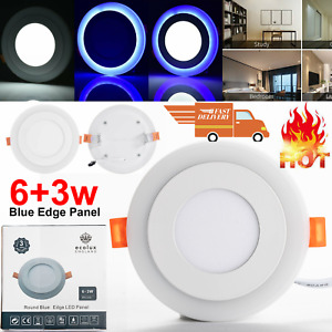 LED Ceiling Lights Panel Down Light Round Kitchen Bathroom Living Room Wall Lamp