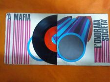 DISCO 45 GIRI PINO MAURO - 'A MAFIA / L'ONORATA SOCIETA' - PRESENCE 1971 VG/FAIR
