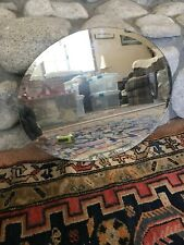 Oval Glass Mirror 16x19